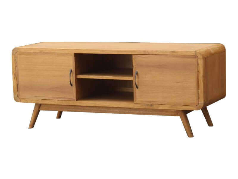 Mobilier scandinave meuble tv bahut commode mathi design for Meuble tv design bois