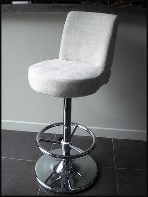 Meubles blanc ou noir mathi design - Chaise de bar avec accoudoir ...
