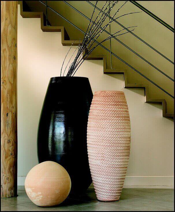 Poterie d 39 art contemporain mathi design for Deco quoi mettre dans un grand vase