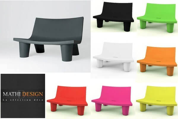 SLIDE: Grand salon de jardin design, ensemble table chaise et ...