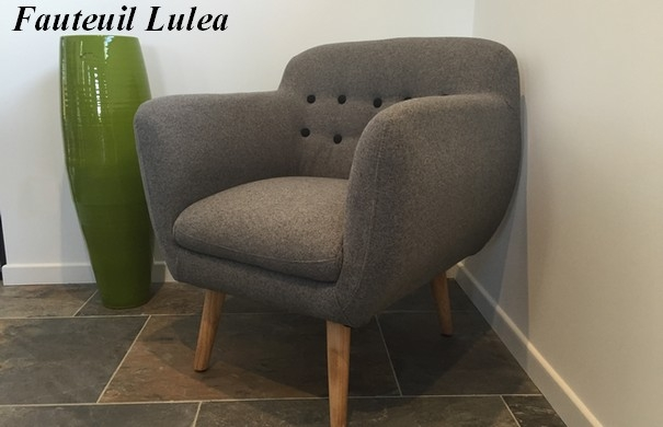 grey design arm chair