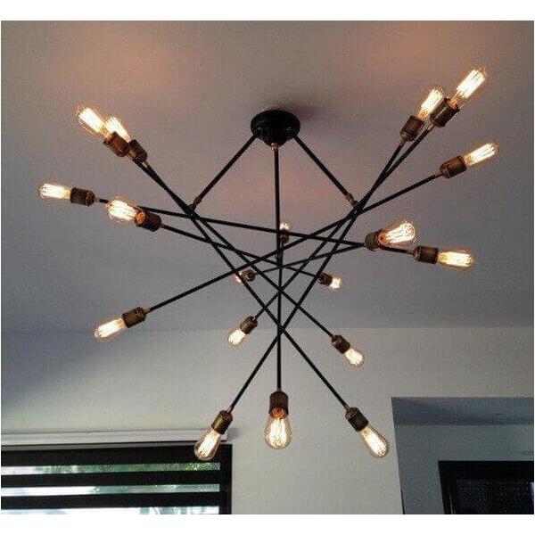Atom chandelier