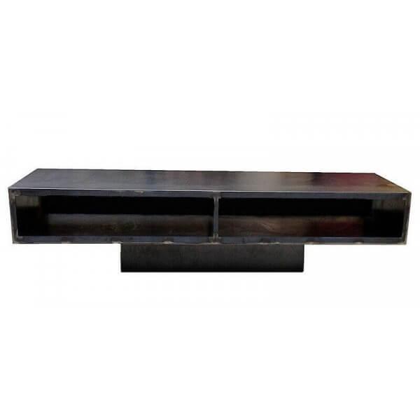 Iron TV stand