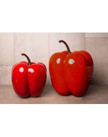 Poivron rouge décoratif 1351