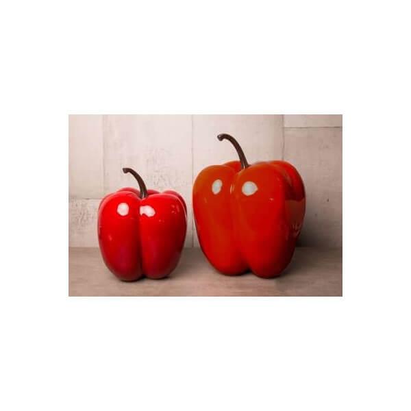 Glossy pepper red