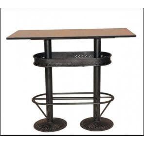 Table haute industrielle 110 1742
