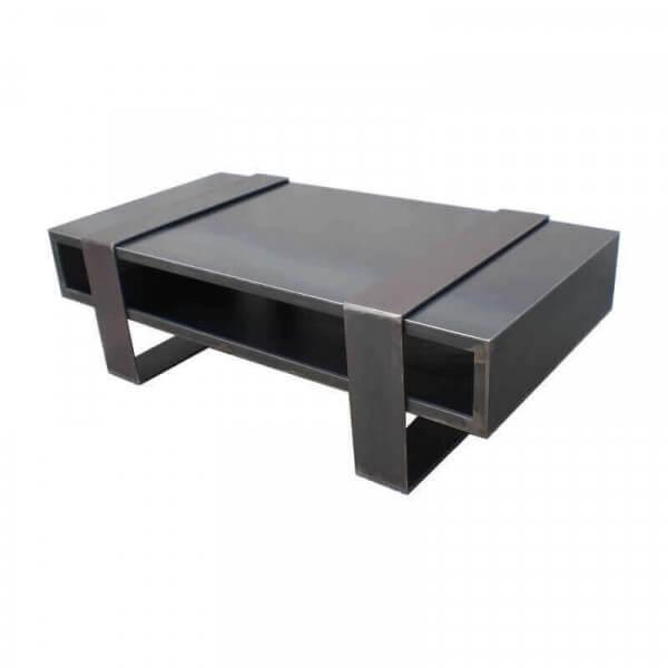 Table de salon design industriel