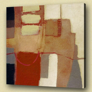 Abstract oil painting Livingroom