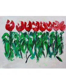 Tableau Tulipes
