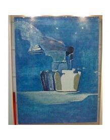 Tableau abstrait Iceberg 1987