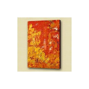 Abstract oilpainting Fanny