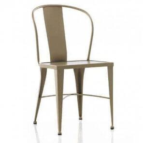 Coffee metal chair