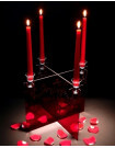 Ghost candelabra by Innermost