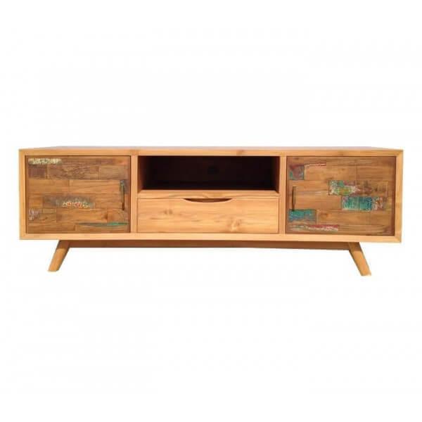 Wood Scandinavian TV unit 145 cm