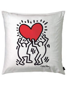 Coussin Keith Haring Heart Hanging