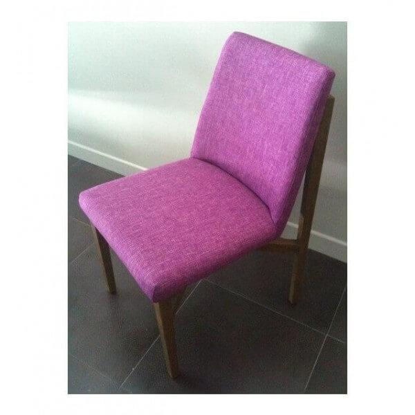 Chaise Trianon violet