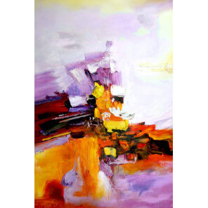 Abstract painting Jazz 04-17