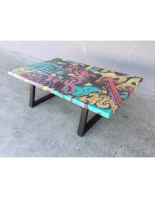 Table Basse loft Graffiti