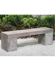 Banc beton massif 160 cm