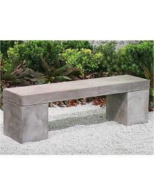 Massive concrete bench 2