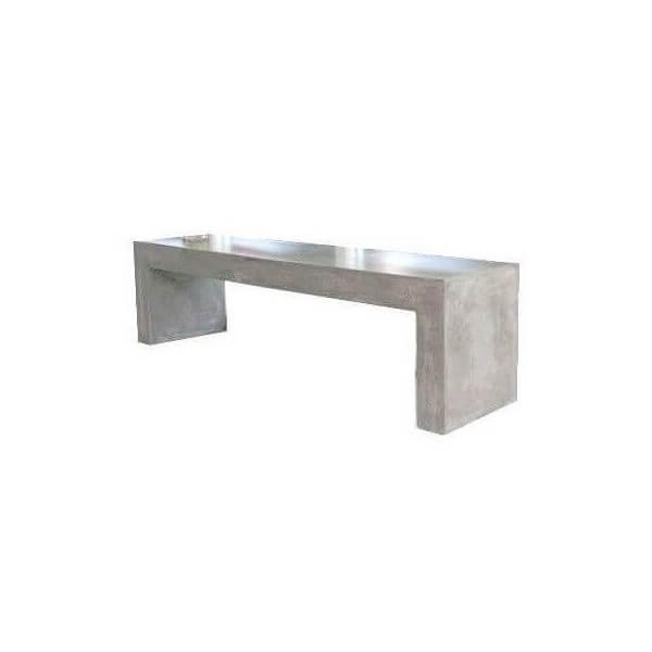 Banc beton massif 54