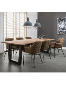 Massive dining table