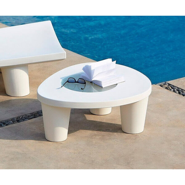 Table basse Slide blanc