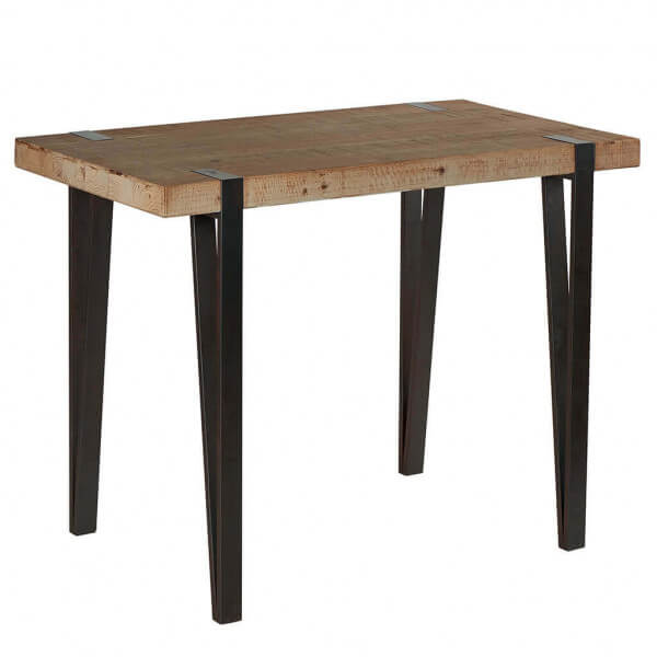 table haute 140. Black Bedroom Furniture Sets. Home Design Ideas