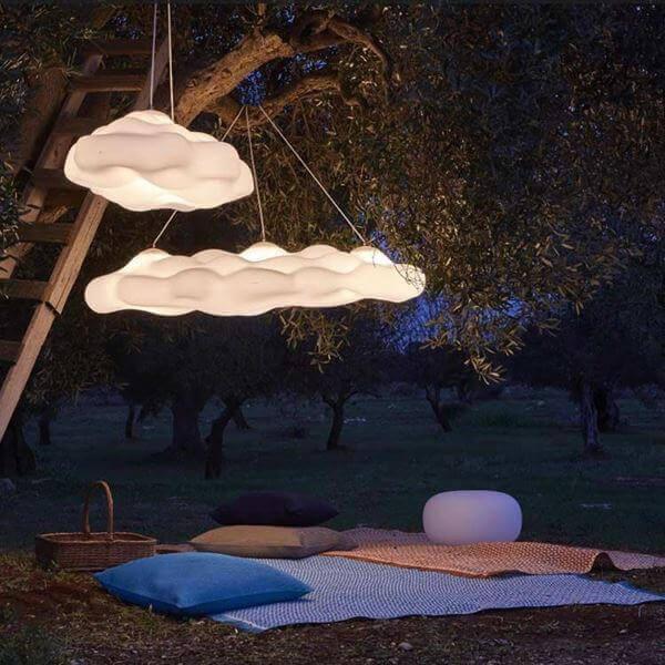 outdoor hanging lamp Nefos Myyour