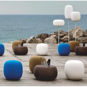 pouf design exterieur terrasse pandora