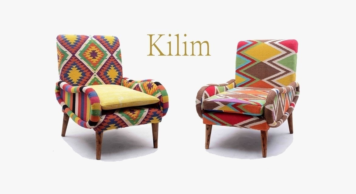 Kilim furnitures